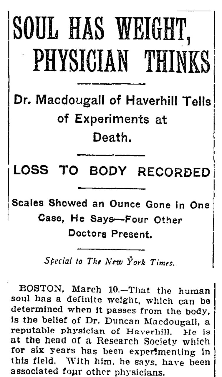 New York Times. March 11, 1907
