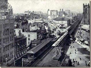 Herald Sq., 1888. 6th Ave. El.