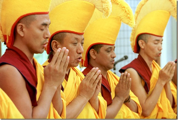 tibet-monjes