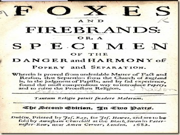 Foxes and Firebrands - Robert Ware